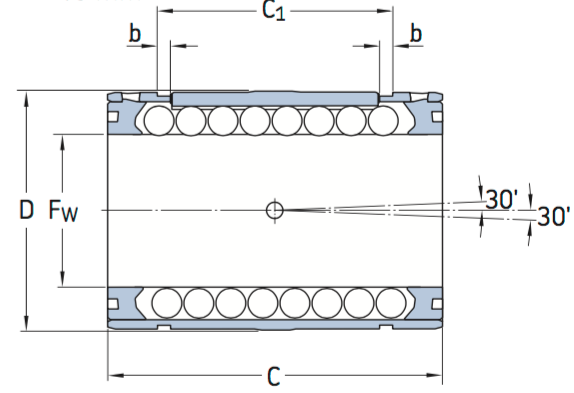 CAD LBCD D ball bearing