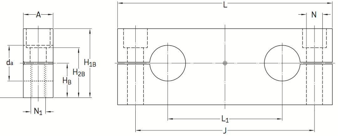 CAD afbeelding LEAS B asbok